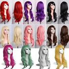 wig wigs womens costume cosplay anime black red purple red blonde pink brown