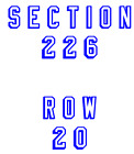 New York Rangers vs Columbus Blue Jackets 11/6 two tickets NYR MSG NHL Lundqvist
