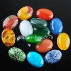 Natural Gem Stone Oval Cabochon CAB No Drill Hole 18x25mm Making Jewelry MBU311