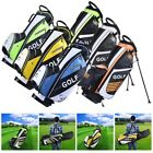 13 Clubs Golf Cart Stand Carry Bag 14 Way Divider Top Organizer Pockets Storage