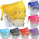 Kyпить Belly Dance Dancing Hip Skirt Scarf Wrap Belt costume with 3 Rows Gold Coins USA на еВаy.соm