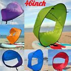 LOT 1 10 46 Portable PVC Downwind Wind Paddle Instant Popup Board Kayak Sail BT