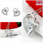 'Forget me not' S925 Gorgeous sterling silver jewellery set UK SELLE