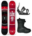 2018 FLOW Vert 151cm Snowboard+Flow LTD Bindings+Flow BOA LTD Boots NEW