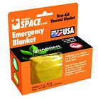 Grabber Outdoors The Original Space Brand Emergency Survival Blanket- Gold/Silve