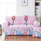 Furniture 1-2-3-4 Seater Sofa Slipcovers Couch Cover FREE Pillowcase Stretch PHS