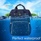 Fashion Mummy Maternity Nappy Diaper Bag Large Capacity Baby Travel Backpack XP