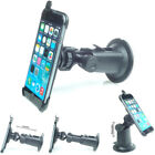 German made Apple iPhone holder + suction dash car mount with extendible base