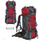 Men Women 55L Waterproof Outdoor Sports Backpack Travel Bag External Frame Pack