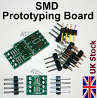 SOP8 / SOIC8 / SSOP8 / TSSOP8 to DIP Adapter Prototyping Board SMD  - UK Stock