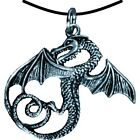 """BestSaller """"Winged Serpent Dragon"""" Pendant (Silver). Shipping Included"""