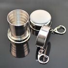 Portable Stainless Steel Folding Cup Telescopic Collapsible Outdoor Travel Cup