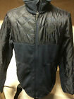New Mens Cinch Western Cowboy Rodeo Sweater Jacket Navy Blue