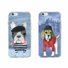 French bulldog soft case cover for iPhone 5 5S SE 6 7 Plus 8 8 Plus X XS Max XR