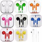 Generic Earbuds Headphones Works For Apple Iphone W/ Remote & Mic