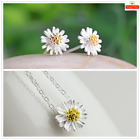 Classic S925 sterling silver Earrings & Necklace set UK SELLER