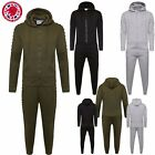 Boys Junior SIDE PANEL Ribbed Top Bottoms Sports Designer GYM Hoodie Tracksuits