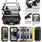 Original Waterproof Shockproof Metal Case Cover+gorilla Glass For Ip Samsang