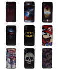 Super Hero Kids Cartoon Novelty Soft Rubber Protective Cover Case For iPhone X