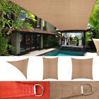 Kyпить Sun Shade Sail Outdoor Patio Pool Lawn Rectangle/Triangle Canopy Cover UV Block на еВаy.соm