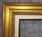 """3.25"""" Antique Gold Leaf Ornate photo Oil Painting Wood Picture Frame 421GL"""