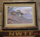 NWTF 2009 NED SMITH ARTIST OF THE YEAR LTD EDITION FRAMED GICLEE PRINT ON CANVAS
