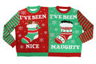 Funny UGLY XMAS CHRISTMAS SWEATER Vacation Santa Elf Funny Women Men Sweatshirt