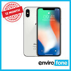 Apple iPhone X 64GB 256GB Space Grey Silver Unlocked Refurbished Smartphone