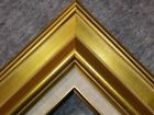"""3.75"""" Antique Gold Leaf Ornate photo Oil Painting Wood Picture Frame 18G"""