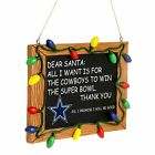 StoreInventoryforever collectibles - nfl - chalkboard sign christmas ornament - pick your team
