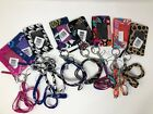 NEW Vera Bradley Solid Interior Zip ID Case and Lanyard Set - Choose Color