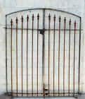 5't Classic All Spear Wrought Iron Entry Or Garden Gate
