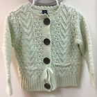 Babygap Toddler Girls 2T Knit Sweater - Cream Color W A Slight Green Ting