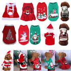 Christmas Theme Pet Dog Clothes Cotton Lovely Hoodie Warm Skirt Winter Costume