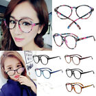 Fashion Women Men Eyeglasses Spectacle Frames Lenses Plain Glasses Eyewear UK
