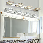 2 3 4Way Bathroom LED Crystal Mirror Light Wall Fixture Vanity Lights Waterproof