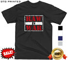 WWF WWF MONDAY NIGHT RAW IS WAR T SHIRT 90S CLASSIC VINTAGE WRESTLING MENS S-XXL image