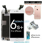 For iphone 6-6S Plus Full LCD Touch Screen Digitizer Replacement +Button +Camera
