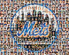 New York Mets Photo Mosaic Print Art using 200 past and present players on Ebay