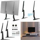 UNIVERSAL TV STAND BASE TABLETOP VESA PEDESTAL MOUNT FOR LCD LED TV 17-55 inch
