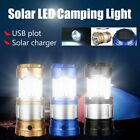 5PCS Solar Rechargeable 2-in-1 Ultra Bright Led Camping Lantern & Outdoor Lamp#O