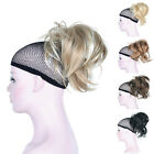 Women's Ponytail Clip-on Short straight ponytail Extensions Hair Hairpiece wigs