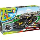 Revell Black Racing Car Junior Kids Childrens Plastic Car Model Kit Collectables