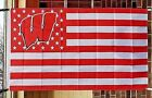 UW Wisconsin University Badgers 3X5 NCAA Sports Flag College Banner