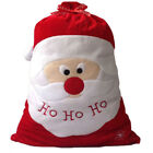 Christmas Day Decoration Santa Large Sack Stocking Bag B3A9