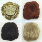 Toupee Good quality Synthetic hair Toupees hair loss top piece wigs 35 Color