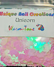 UNICORN SHAPE~Spangles~ U Pick Color~ Nail Art~ Slime~Crafts~USA