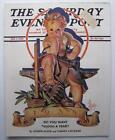 Jan 1938 New Years Leyendecker Cover Saturday Evening Post Magazine Comp Issue