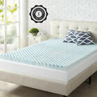 2 Inch Cooling Gel Memory Foam Mattress Topper Pad Bed Cushion Orthopedic Firm