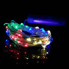 10/20/30/40 LED Copper Wire Fairy String Lights Battery Operated Christmas Decor